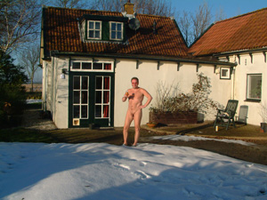 Naturists, do they never wear any clothes?