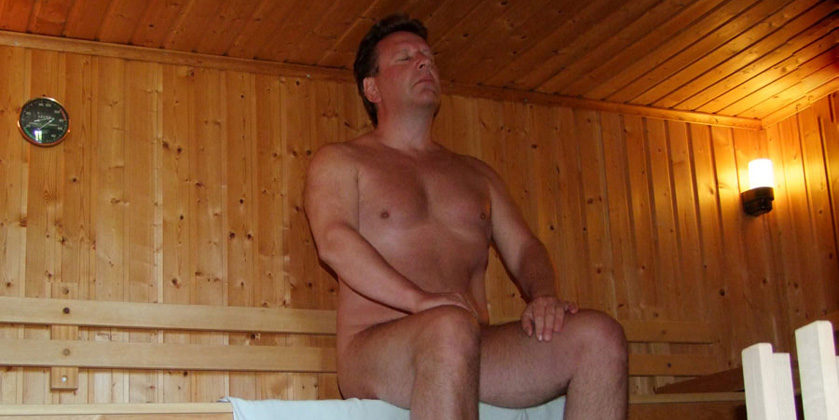 For many people, a sauna is a first introduction to nude recreation