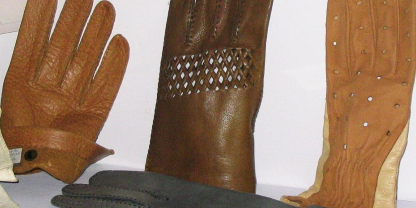 Leather gloves in Saint-Junien