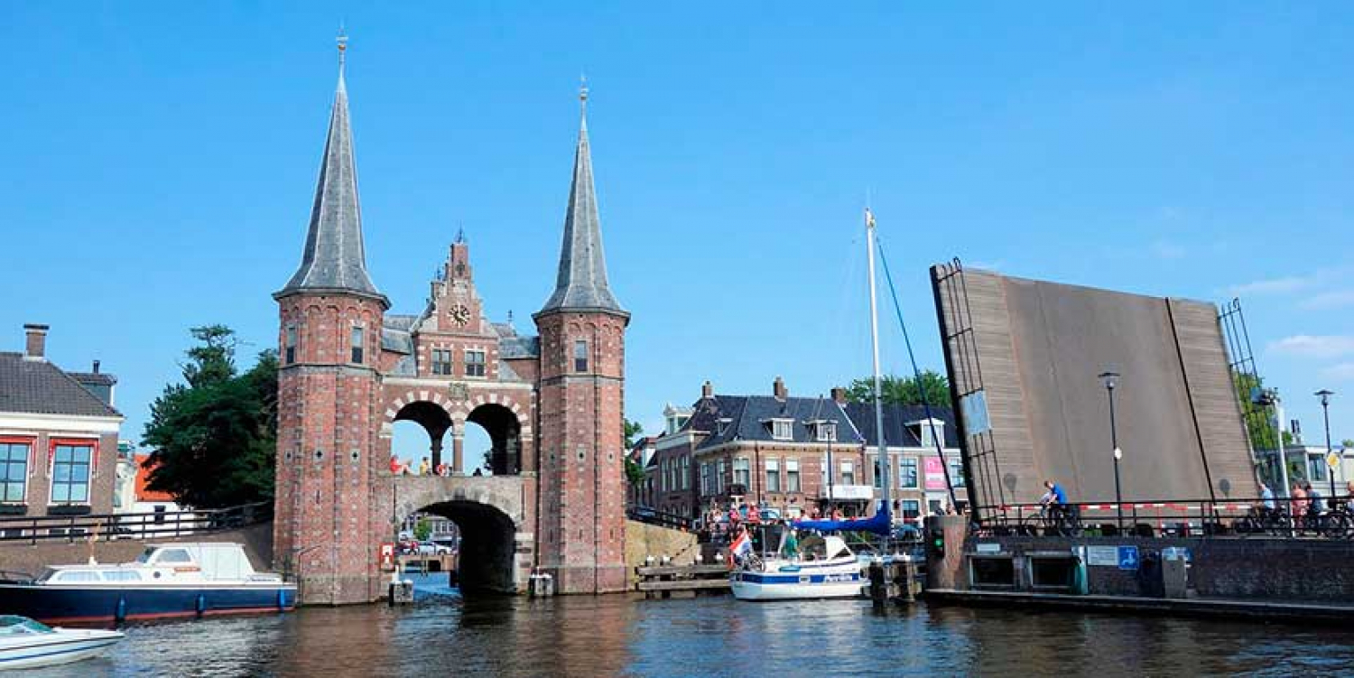 De Waterpoort te Sneek